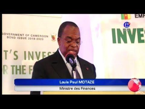 LE JOURNAL DU 20H00 (L'État du Cameroun à la recherche de 150 Milliards de FCFA) du 26/10/2018