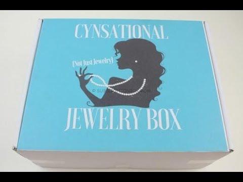 Cynsational Jewelry Box May 2018 Unboxing + Coupon #CynsationalJewe