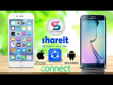 how to connect iphone to android shareit [HINDI]