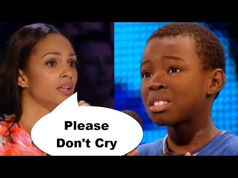 TOP 8 ♥ TRY NOT TO CRY ♥ MOST BEAUTIFUL & EMOTIONAL AUDITION