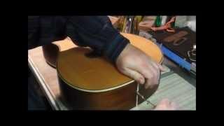 Installing Piezo Pickup in Acoustic Guitar