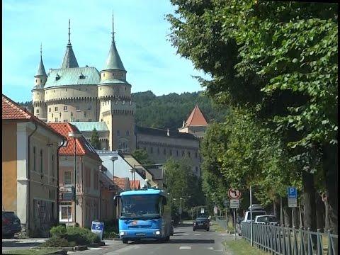 Local & regional roads Slovakia (4.) Prievidza - Bojnice - Šútovce - Nitrianske Rudno - Valaská Belá
