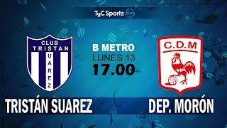 Tristan Suarez vs Deportivo Moron full match