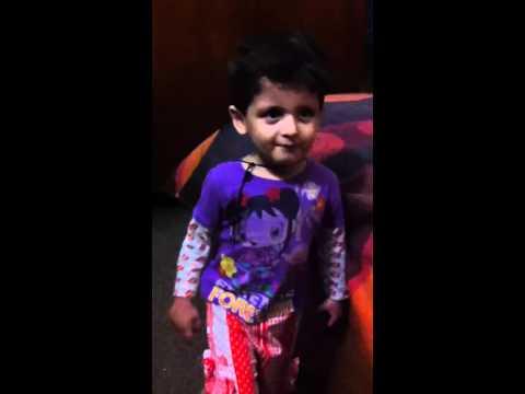 Anaya while learning 4 provinces of Pakistan