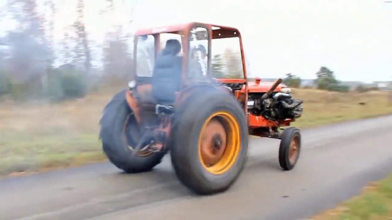 Traktöre ferrari motoru takılırsa