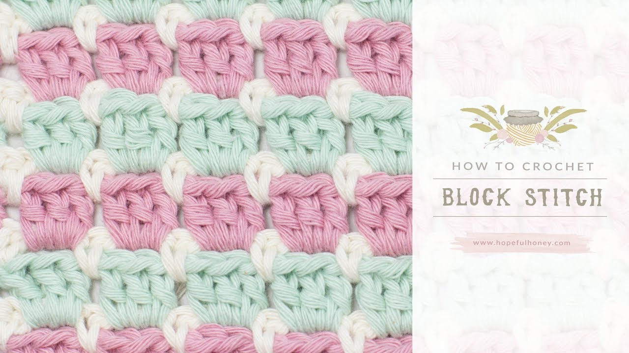 Crochet Stitch Pattern Diagram Wire Data Schema Patterns Afghan Diagrams How To The Block Easy Tutorial By Guides With Heart Or Chart