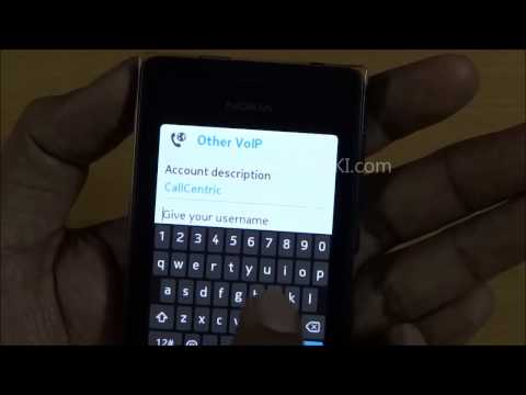 SIP VoIP on Nokia Asha 500, 501, 502 & 503 - Guide to Configuration & Use