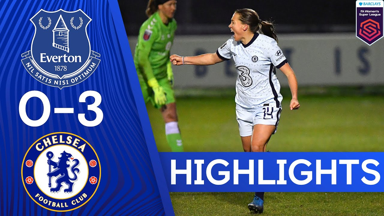 Everton 0-3 Chelsea | The Blues Move To First After Convincing Win | Women's Super League Highlights