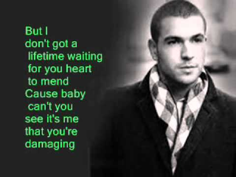 Shayne Ward Waiting In The Wings Lyrics On Screen