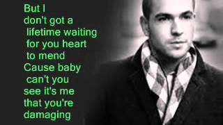 Shayne Ward- Waiting In The Wings (Lyrics On Screen)