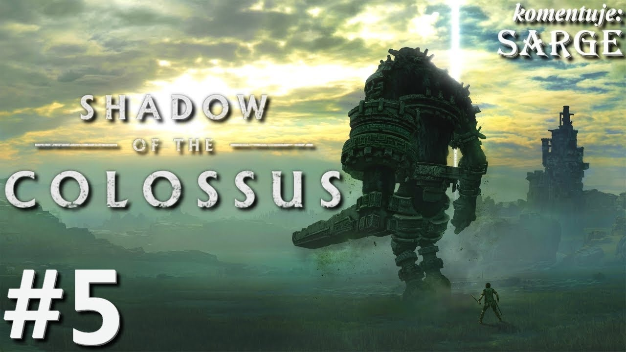 Zagrajmy w Shadow of the Colossus [PS4 Pro] odc. 5 – Polowanie ptaszora