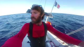 First steps singlehanded in the Atlantic - Ep 19 - The Sailing Frenchman