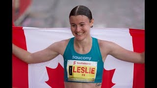 Leslie Sexton runs 2:35:47, wins first Canadian marathon title