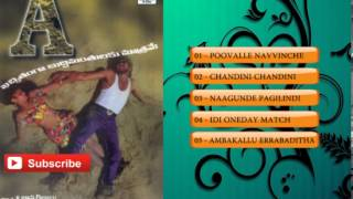 A Telugu Movie Full Songs | Juke Box | Upendra, Chandni