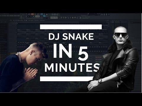MAKE A TRACK LIKE DJ SNAKE IN EXACTLY 5 MINUTES + FREE FLP