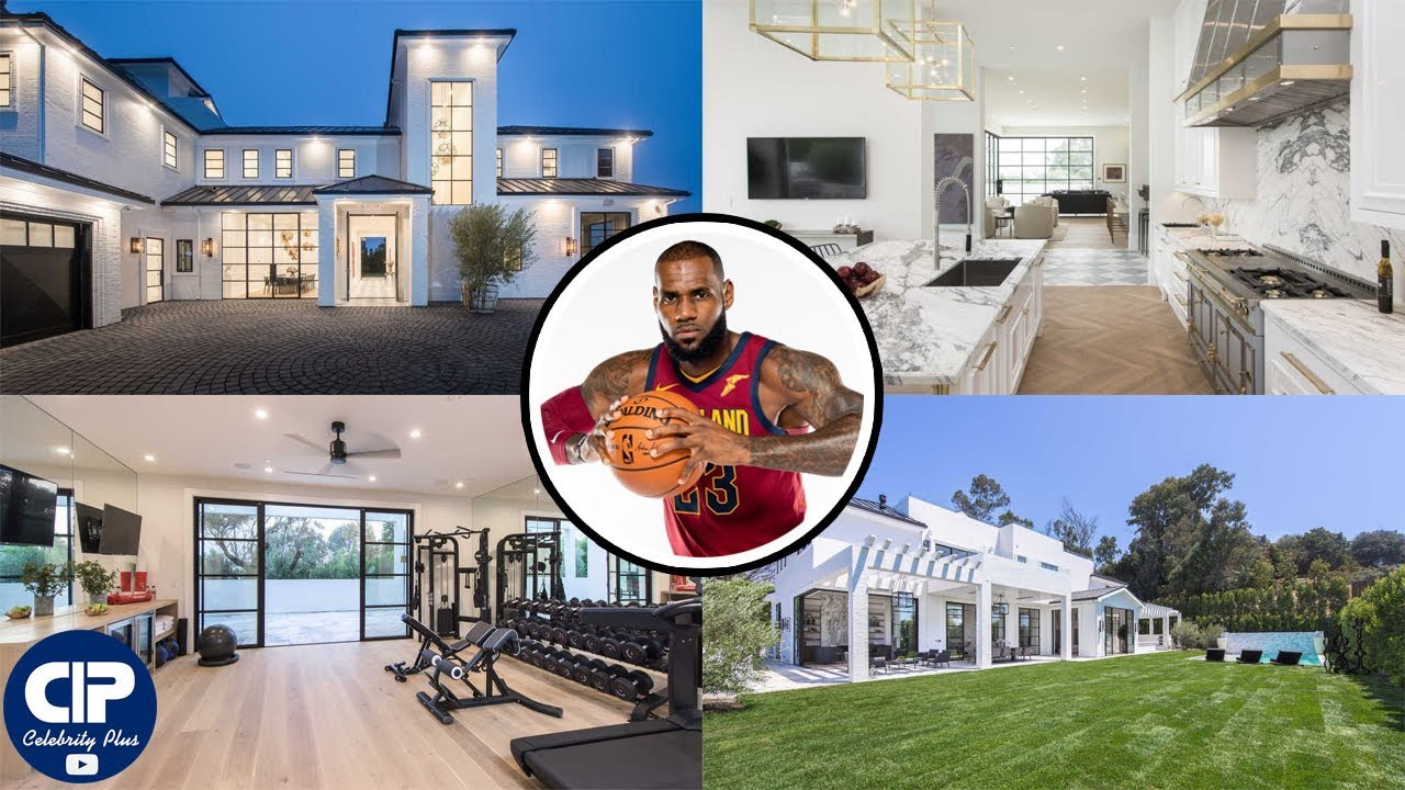 Captivating LeBron James New Mansion Tour 2018 | $ 23 Million | Brentwood Estate