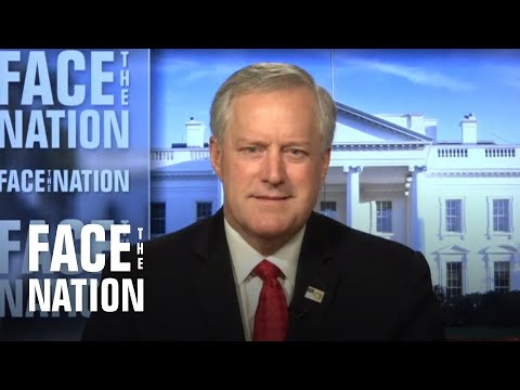 """Meadows expects """"pretty aggressive"""" timeline for Barrett's Supreme Court confirmation"""