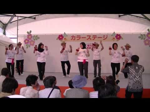 Sajojo dance by PPI Hiroshima at Hiroshima Flower Festival 2011