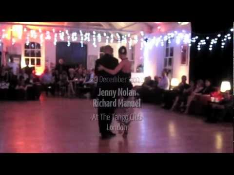 Richard Manuel & Jenny Nolan at The Tango Club 29 Dec 2012