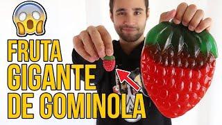 Fruta GIGANTE DE GOMINOLA vs NORMAL