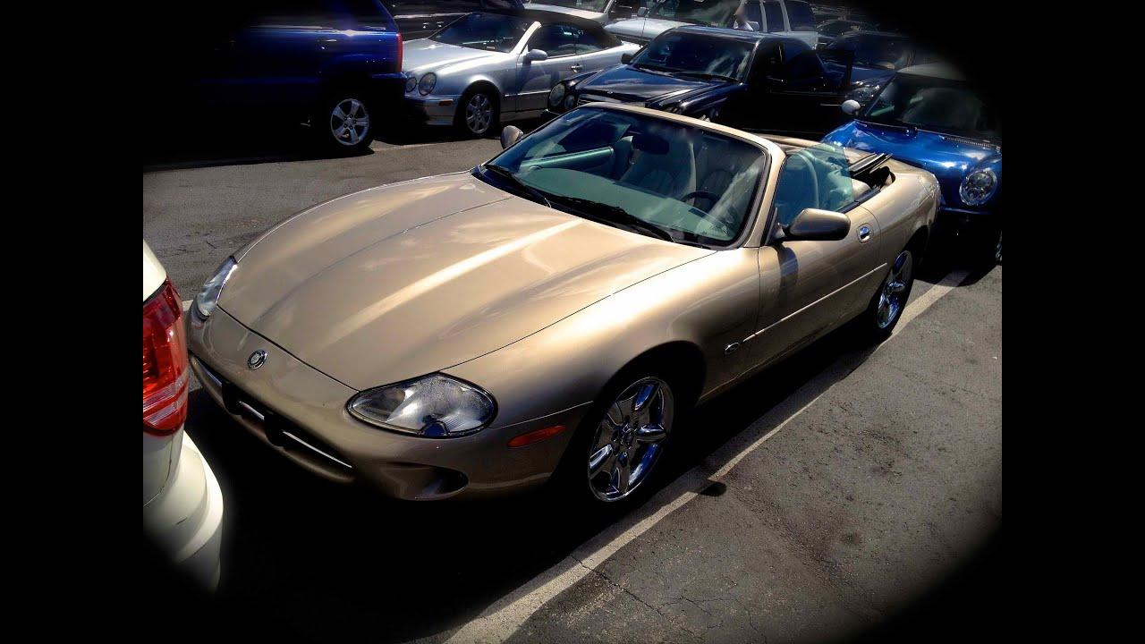 1998 Jaguar XK8 Convertible Start Up, Quick Tour, U0026 Rev With Exhaust View    58K   YouTube