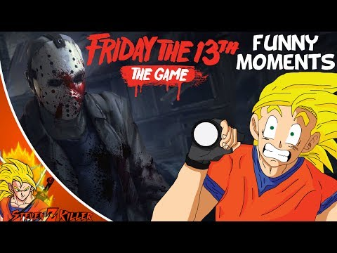 Friday The 13th The Game : Funny Moments! (JASON STOP... NO!!!) Part 1 - with Friends
