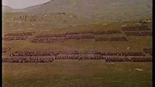 Spartacus battle scene