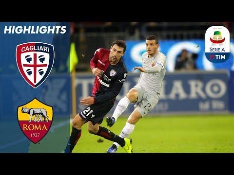 Cagliari 2-2 Roma | Nine Man Cagliari Get A Last Minute Equaliser Against Roma | Serie A
