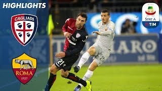 Roma concede a late equalizer to 9 man cagliari | serie this is the official channel for a, providing all latest highlights, interviews, news...