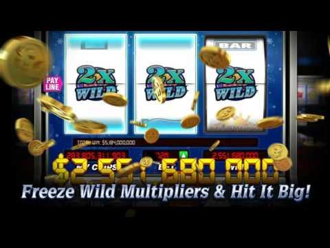 New Game on DoubleU Casino - Old Downtown (Frozen Wild / 2x Bonus Wheel / Wild X Spin slots)