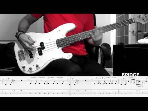 """AFI - """"The Wind That Carries Me Away"""" (Bass Cover w/ Tabs)"""