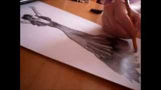 Drawing Flamenco Dancer