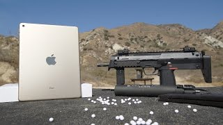 Repeat youtube video iPad Air 2 Bend Test vs Airsoft