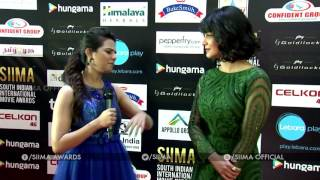 Shruthi Haasan At SIIMA Awards 2016 - Tamil Red Carpet