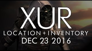 destiny xur location inventory for 12 23 16 december 23 2016 rise of iron