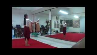 รำสี่ภาค-ตารีกีปัส (ภาคใต้) - บ้านรำไทย ดอนเมือง