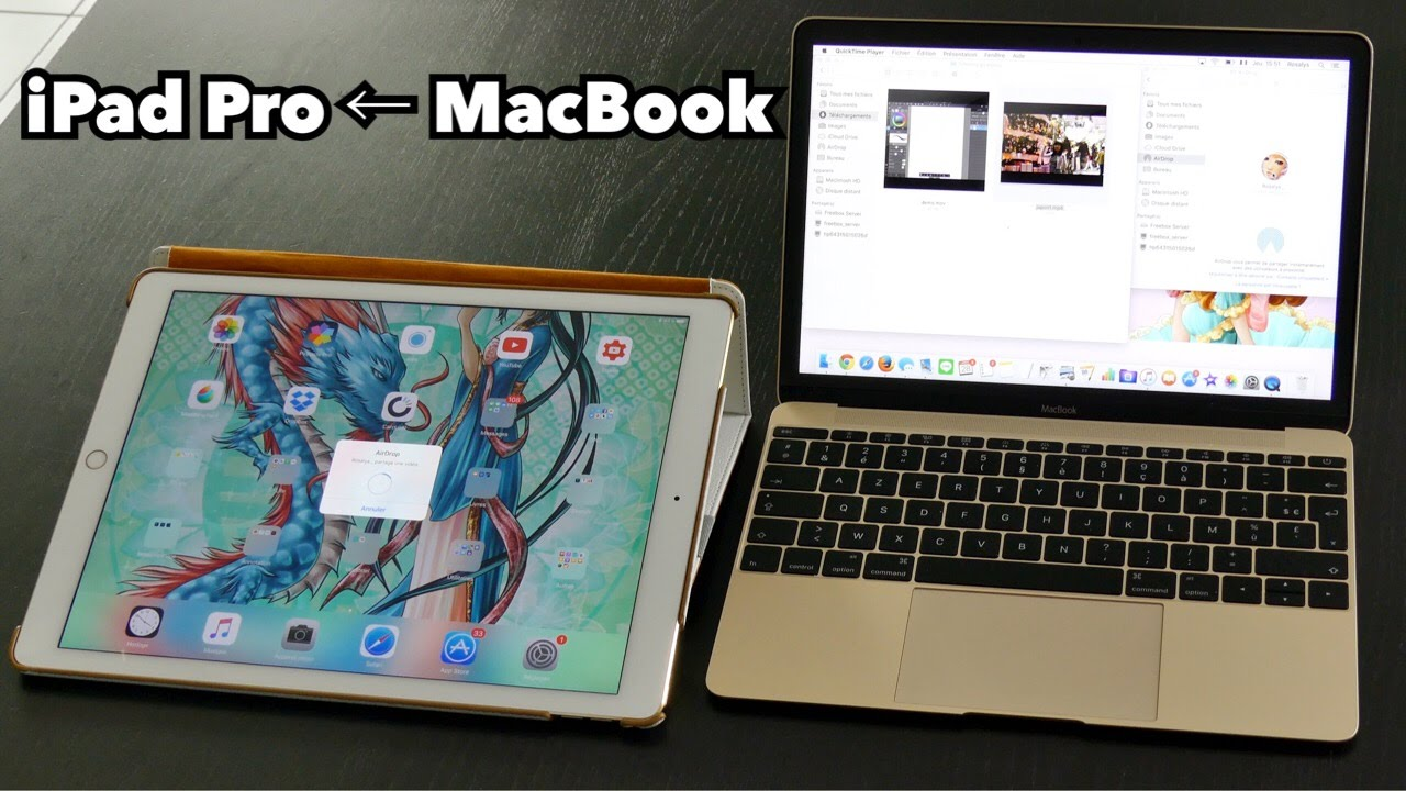 [how To] Transfer To An Ipad Pro A Video From A Macbook: Finder, Airdrop,  Wifi & Bluetooth  Youtube
