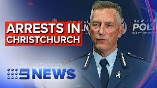Christchurch shooting: Four arrested | Nine News Australia