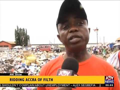 Ridding Accra of Filth - AM Show on Joy News (12-10-16)