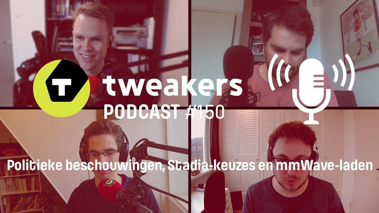 Tweakers Podcast #150 - Politieke beschouwingen, Stadia-keuzes en mmWave-laden - tweakers
