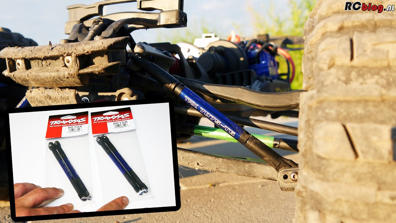Traxxas 8619X Push Rods Upgrade (NL)
