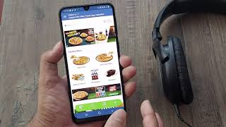 how to use dominos app to book pizza screenshot 2