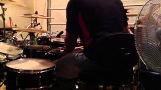 """Sailing"" by Avant drum cover by Wheezie"