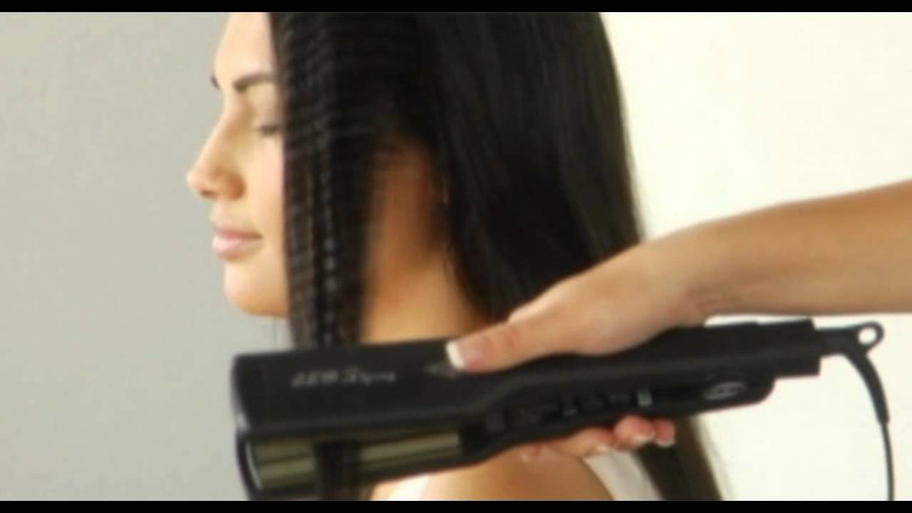iso crimping tool by ultimate hair tools youtube. Black Bedroom Furniture Sets. Home Design Ideas