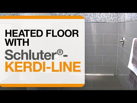 barrier free showers heated floor u0026