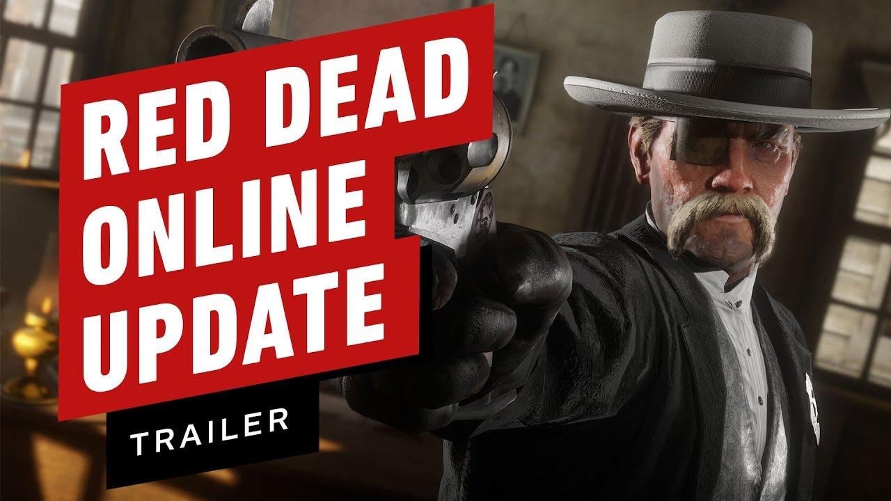 Red Dead Online: Trailer zu wichtigen Updates + video