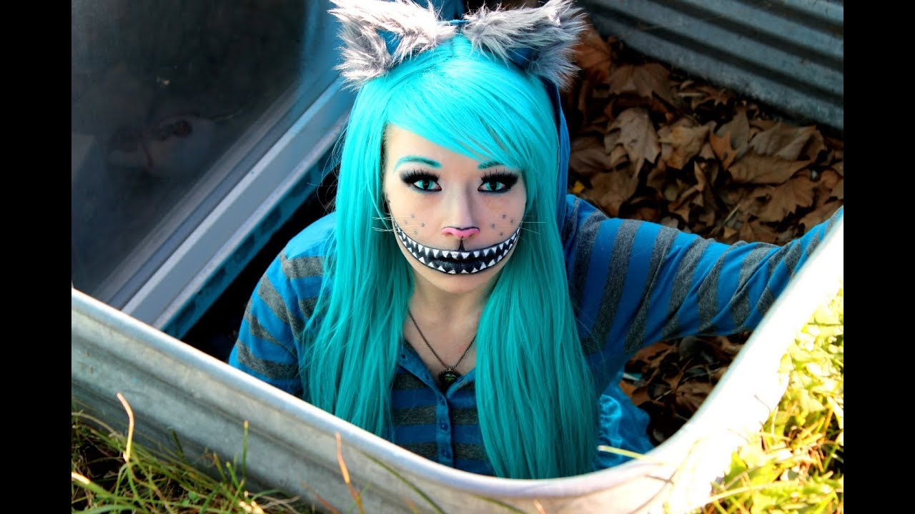 Cheshire cat makeup tutorial costume youtube makeup tutorial costume youtube baditri Gallery