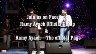 Ramy Ayach -mni chibak & habibi inta -Fes  Concert