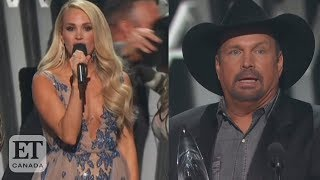 Garth Brooks Beats Carrie Underwood At Cma Awards