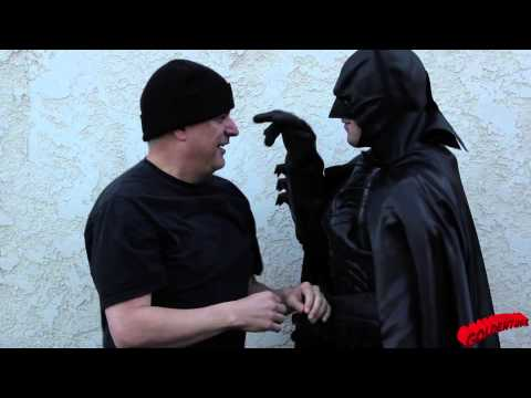 Batman: Dark Knight Theme Song FIGHT Behind the Scenes Take 3 - Goldentusk